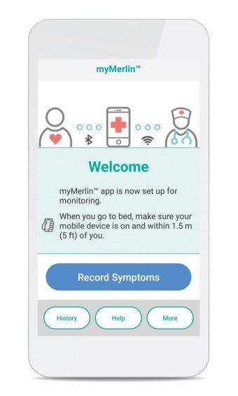 myMerlin, app, smartphone, confirm rx, confirm rx insertable cardiac monitor, cardiac monitor